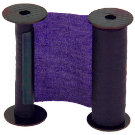 1605 RIBBON SPOOL - BLACK, PURPLE, BLUE, RED, GREEN